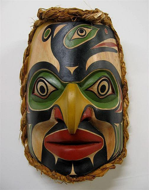 RANDY STIGLITZ (SECSHELT, B.C., 1956-) EAGLE &