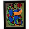 JOHN LAFORD (NATIVE CANADIAN, 1954-), BIG BEAR HUG, ACRYLIC ON CANVAS; SIGNED AND DATED 010 LOWER RIGHT; TITLED VERSO, 16