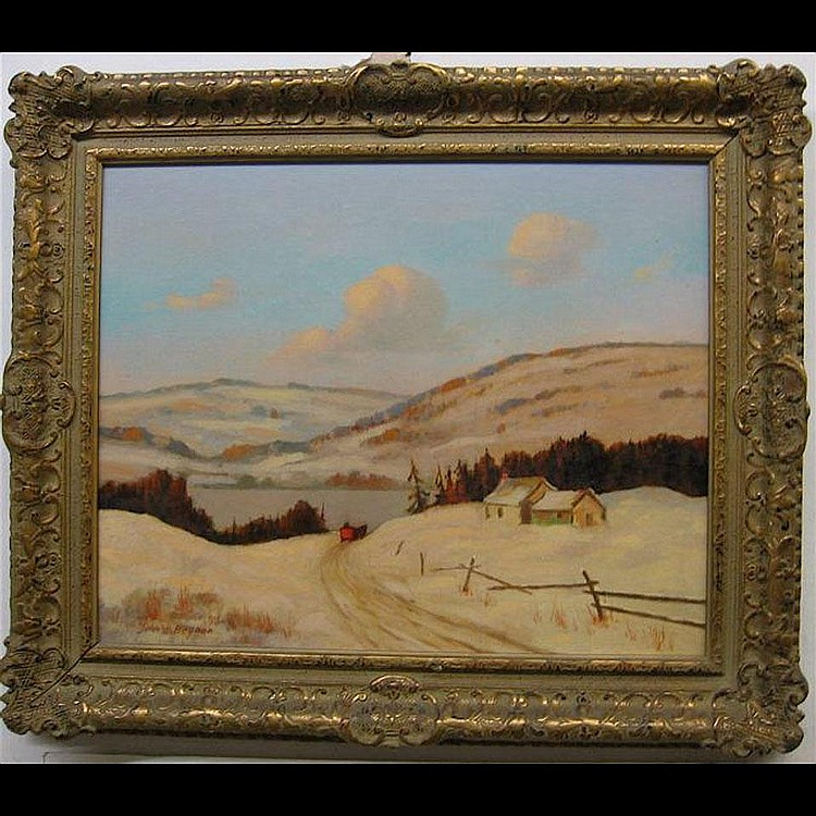 JOHN HUBERT BEYNON (CANADIAN, 1890-1970) WINTER IN