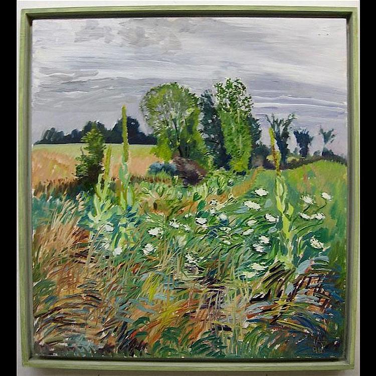 JOHN ANDERSON (CANADIAN, 1940-) ROBINSON FARM; OIL