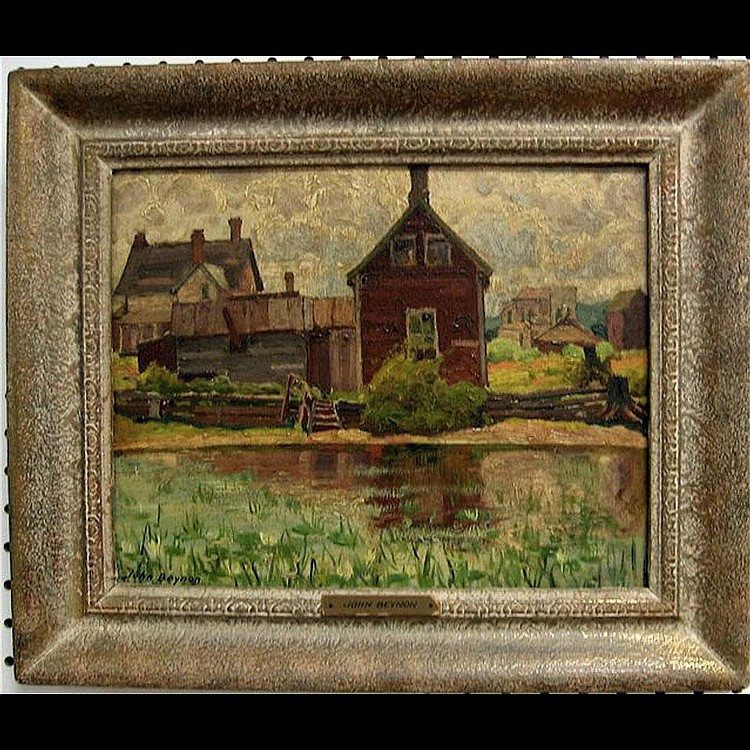JOHN HUBERT BEYNON (CANADIAN, 1890-1970) HOUSES BY