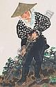 Kotozuka Eiichi ( 1906 -1979 ) OHARAME, HOEING,, Eiichi  Kotozuka, Click for value