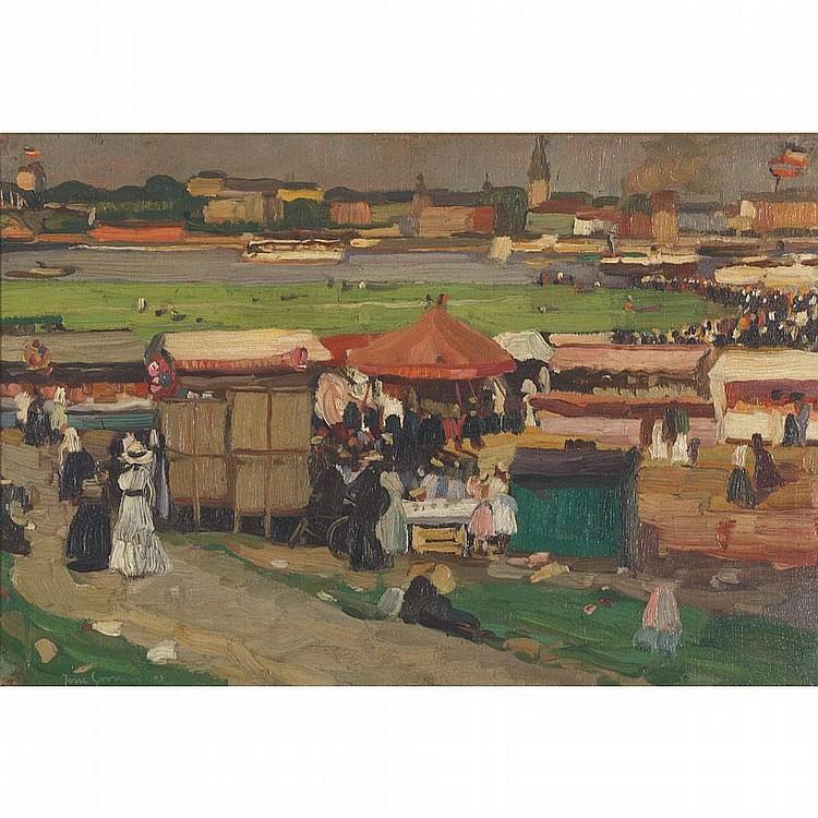 Josse Goossens (1876-1929), German. FRANKFURT FAIR