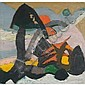 Hildegard Rath (1909-1994), American. ABSTRACT, Hildegard Rath, Click for value