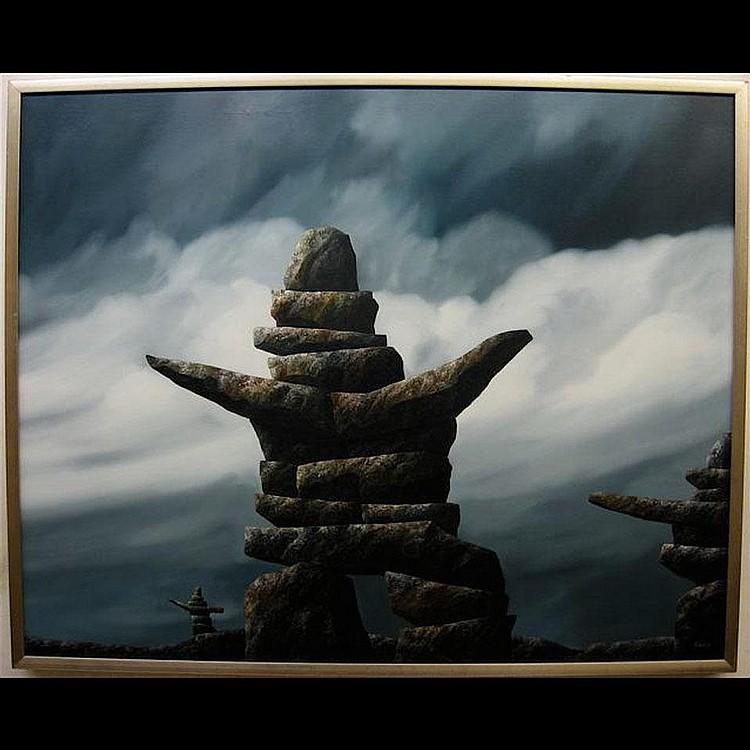 KENNETH MICHAEL KIRKBY (CANADIAN, 1940-)