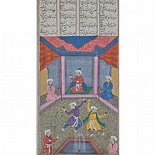 Two Illuminated Qur'an pages, 19th Century or Earlier