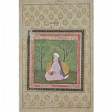 Mughal School, IMAM IN A PINK ROBE, 17TH/18TH CENTURY