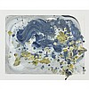 CAROL SUTTON, AUGUST 8 1985, mixed media on paper, 24.5 ins x 31 ins; 62.2 cms x 78.7 cms