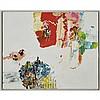 NICOLE KATSURAS, MATATU ROUTE, oil on canvas, 24 ins x 30 ins; 61 cms x 76.2 cms
