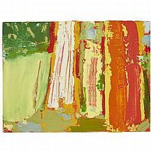 MICHAEL ADAMSON, HALIBURTON LANDSCAPE POSSIBILITY, oil on board, 12 ins x 16 ins; 30.5 cms x 40.6 cms