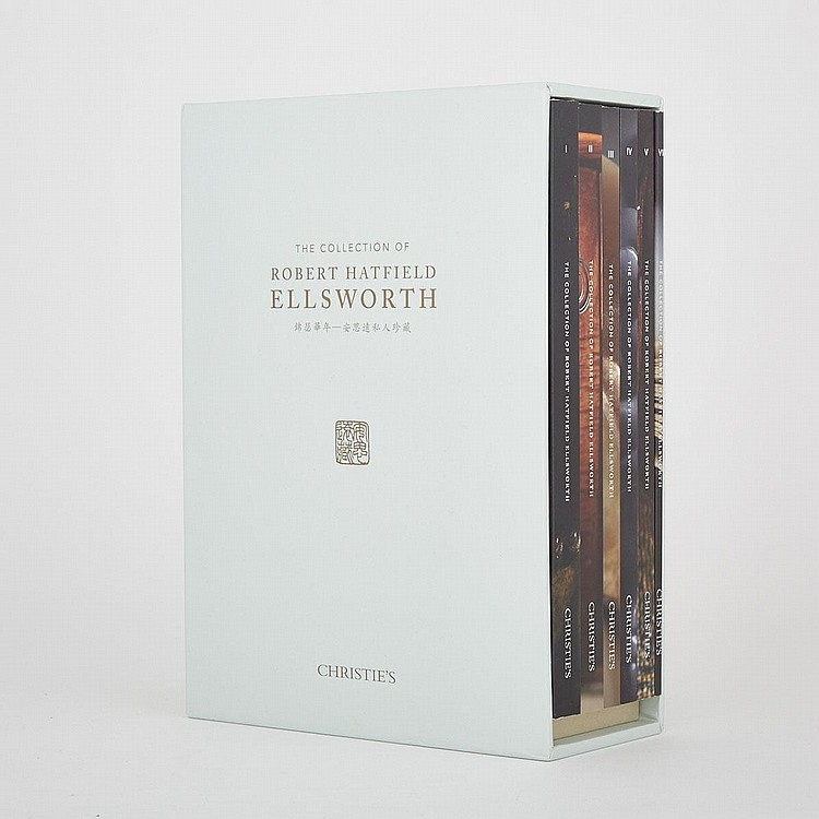 Christie's 'The Collection of Robert Hatfield Ellsworth' - Box Sets and Catalogues I - VI, 錦瑟華年 - 安思遠私人珍藏 專拍圖錄一函六冊