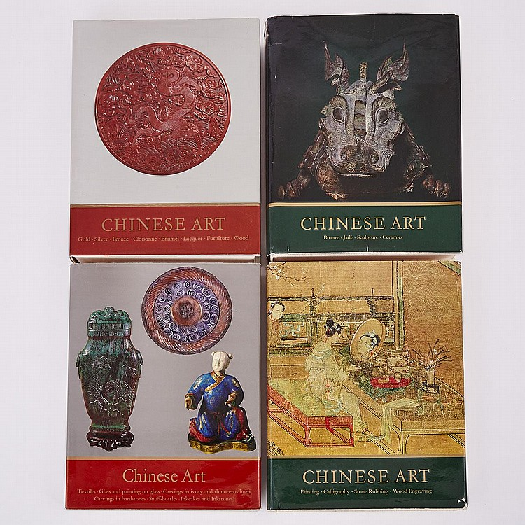 Group of Eleven Asian Art Reference Books (11 Pieces)