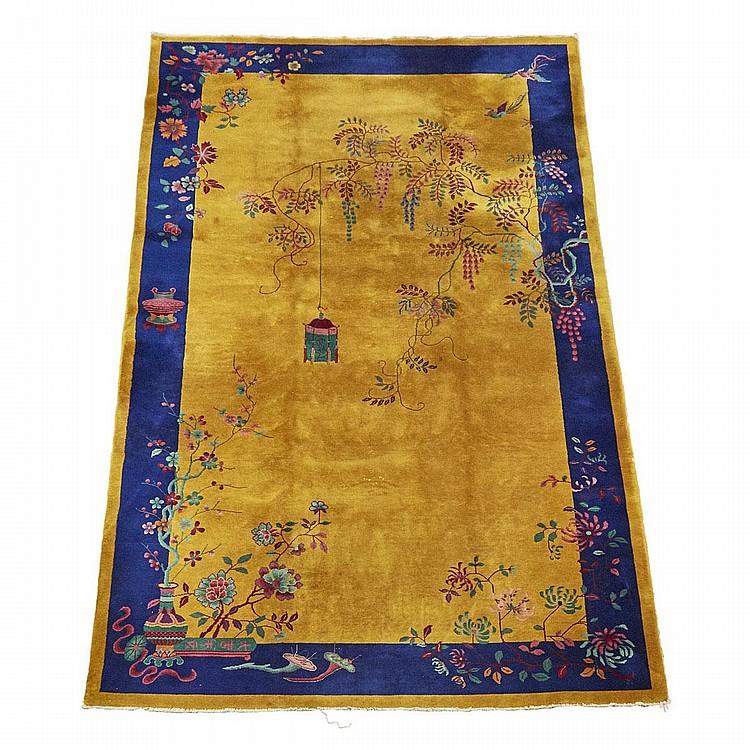 Nichols Art Deco Chinese Carpet, Circa 1930, 13'2
