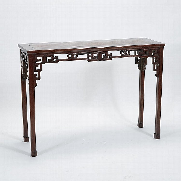 A Hardwood Altar Table, 19th/20th Century, 36.8