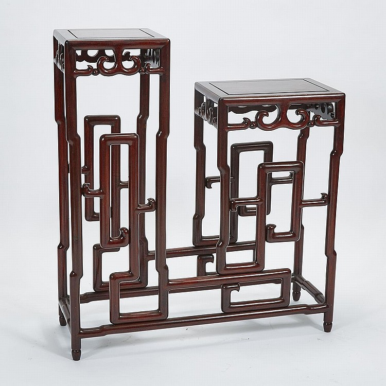 A Rosewood Planter Stand, Early 20th Century, 38.6
