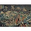 Japanese Woodblock Print Diptych, 18th/19th Century, 14