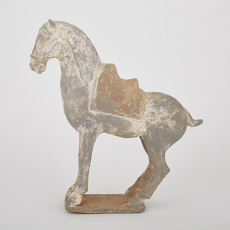A Tang Style Pottery Horse, 12.2