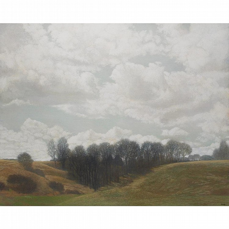 PHILIP CRAIG, SILENT COVE, oil on canvas, 48 ins x 60 ins; 120 cms x 150 cms
