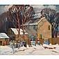 GEORGE ARTHUR KULMALA, O.S.A., WINTER, oil on canvas, 30 ins x 35 ins; 75 cms x 87.5 cms, George Arthur Kulmala, Click for value