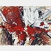 SUZANNE BERGERON, COMPOSITION, gouache, 19 ins x 25 ins; 48.3 cms x 63.5 cms, Suzanne Bergeron, Click for value