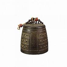 Bronze Temple Bell, Edo Period, 18th/19th Century