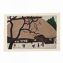 Kiyoshi Saito (1907-1997), AUTUMN IN NARA