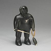 TIMOTHY KUTCHAKA (1924-), E9-774, Inukjuak HUNTER