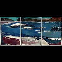 KIM WOODMAN (CANADIAN, 20TH CENTURY) ROGUE WATER,
