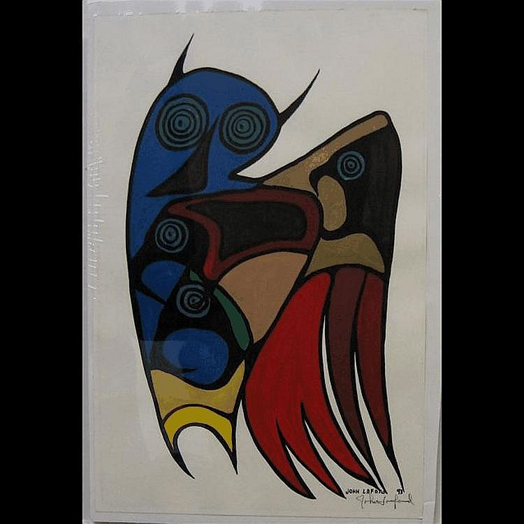 JOHN ERIC LAFORD (CANADIAN, 1954-) LITTLE MOON,