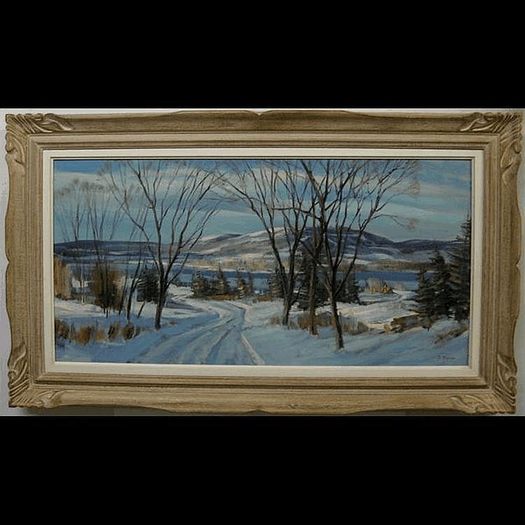 SYDNEY BERNE (CANADIAN, 1921-) NEAR MONT