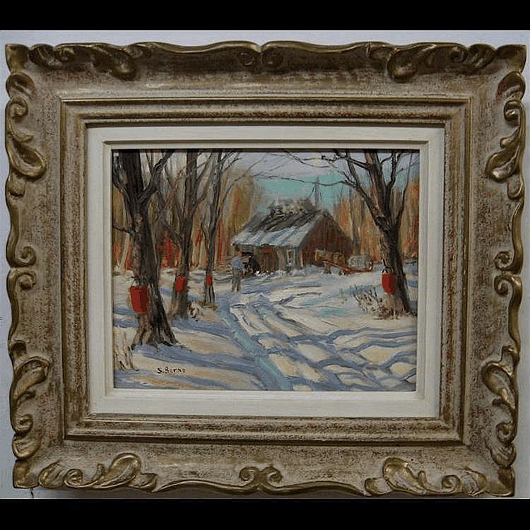 SYDNEY BERNE (CANADIAN, 1921-) SUGARING, RAWDON,