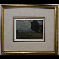 CHARLES EDOUARD HUOT (CANADIAN, 1855-1930) BOIS
