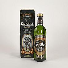 GLENFIDDICH (1 750 ML)William Gran& Son. Speyside. 40% ABV / 750 mlBottle: 1Notes: Machesson 40 Malt1 bt.per lot $200 - $300