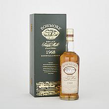 BOWMORE 32 YRS. (1 750 ML)Morrison Bowmore Distillers. Islay. high shoulder45.5% ABV / 750 mlVintage: 1968Notes: 50 Anniversary, Special Distillation1 bt. (OC)per lot $2,900 - $3,300