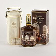 GOODERHAM & WORTS 15 YRS (1 33 1/2 OZ)G&W.; Canada. 40% ABV / 33 1/2 ozDistilled: 1952Notes: Centenial 1867-19671 bt.per lot $200 - $300