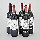 MAHLER-BESSE CHÂTEAU PICARD 2003 (3)St.-Estèphe. PAUILLAC BY CHÂTEAU LATOUR 2000 (2)Pauillac. 5 bts.per lot $300 - $400