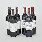 CHÂTEAU D'ANGLUDET 2003 (3)Bordeaux. CHÂTEAU PIBRAN 2003 (3)Pauillac. 6 bts.per lot $200 - $300