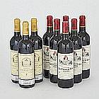 CHÂTEAU L'HERMITAGE 2005 (3)St.-Émilion. Grand Cru ClasséCHÂTEAU LA CROIX DE GAY 2010 (6)Pomerol. 9 bts.per lot $400 - $600
