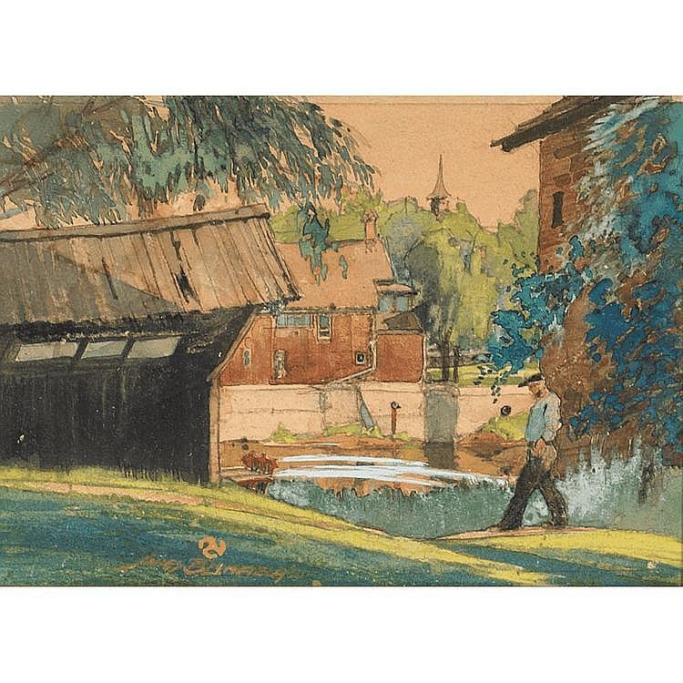 JAMES JERRIS BLOMFIELD FLORA, pencil and
