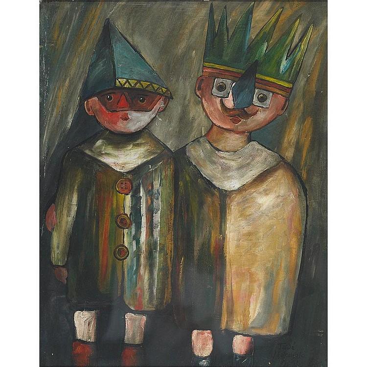 Tadeusz (Ted) Makowski (1882-1932), Polish YOUNG