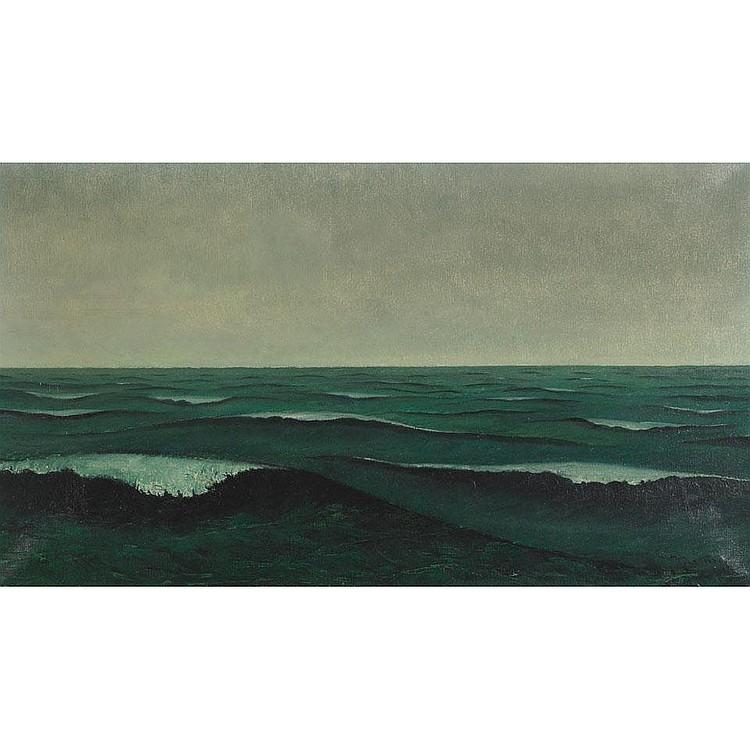Johannes Lodeizen (1892-1980), Dutch SEASCAPE; Oil