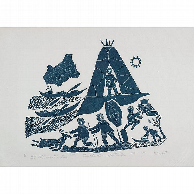 LUKASSIE TUKALAK (1947-), E9-1447, Povungnituk