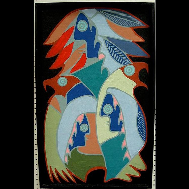 JOHN ERIC LAFORD (CANADIAN, 1954-) MIRROR IMAGE;