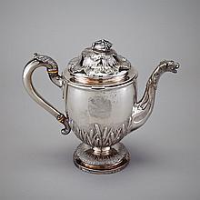 Victorian Silver Gravy Argyle, John Mortimer & John Samuel Hunt, London, 1840, height 7.9