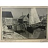 WALLACE ROBERT MacASKILL (CANADIAN, 1890-1956), PEGGY'S COVE, N.S.; THE CROOKED ROAD TO PEGGY'S COVE, N.S.; LANDWASH, N.S. COAST, THREE FRAMED PHOTOGRAPHS; EACH SIGNED AND TITLED, Each 4.5