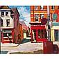 PHILIP CRAIGTORONTO STREET, 2007, oil on canvas; signed 40 ins x 48 ins; 100 cms x 120 cms  Provenance: Loch Gallery, Toronto.Estate of Frances Burns, Toronto.