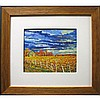 "DAVID CLAYTON DRUM (CANADIAN, 1944-), FALL VINEYARD - DUNNEVILLE, OIL ON CARD; SIGNED LOWER LEFT - Inventory #4011  (Sight, 8.3"" x 10""), David Clayton Drum, Click for value"