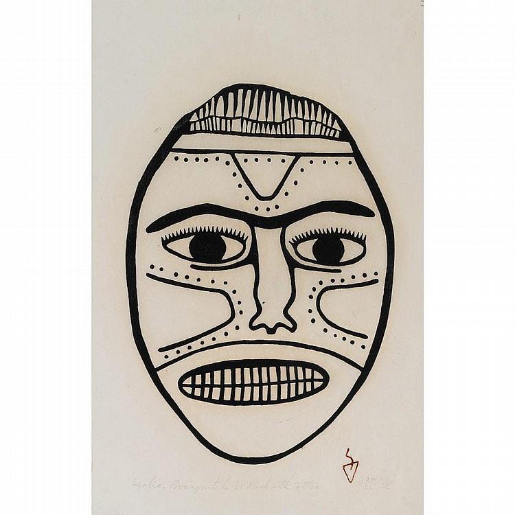SYOLLIE AMITUK (1936-1986), E9-829, Povungnituk