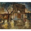 PAL FRIED (1893-1976), HUNGARIAN/AMERICANWASHINGTON SQUARE, NEW YORK CITYOil on canvas; signed lower right42