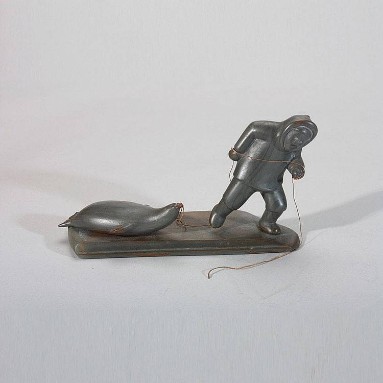 INUIT ART: PAULOOSIE AKITIRQ (1935-), E5-90,